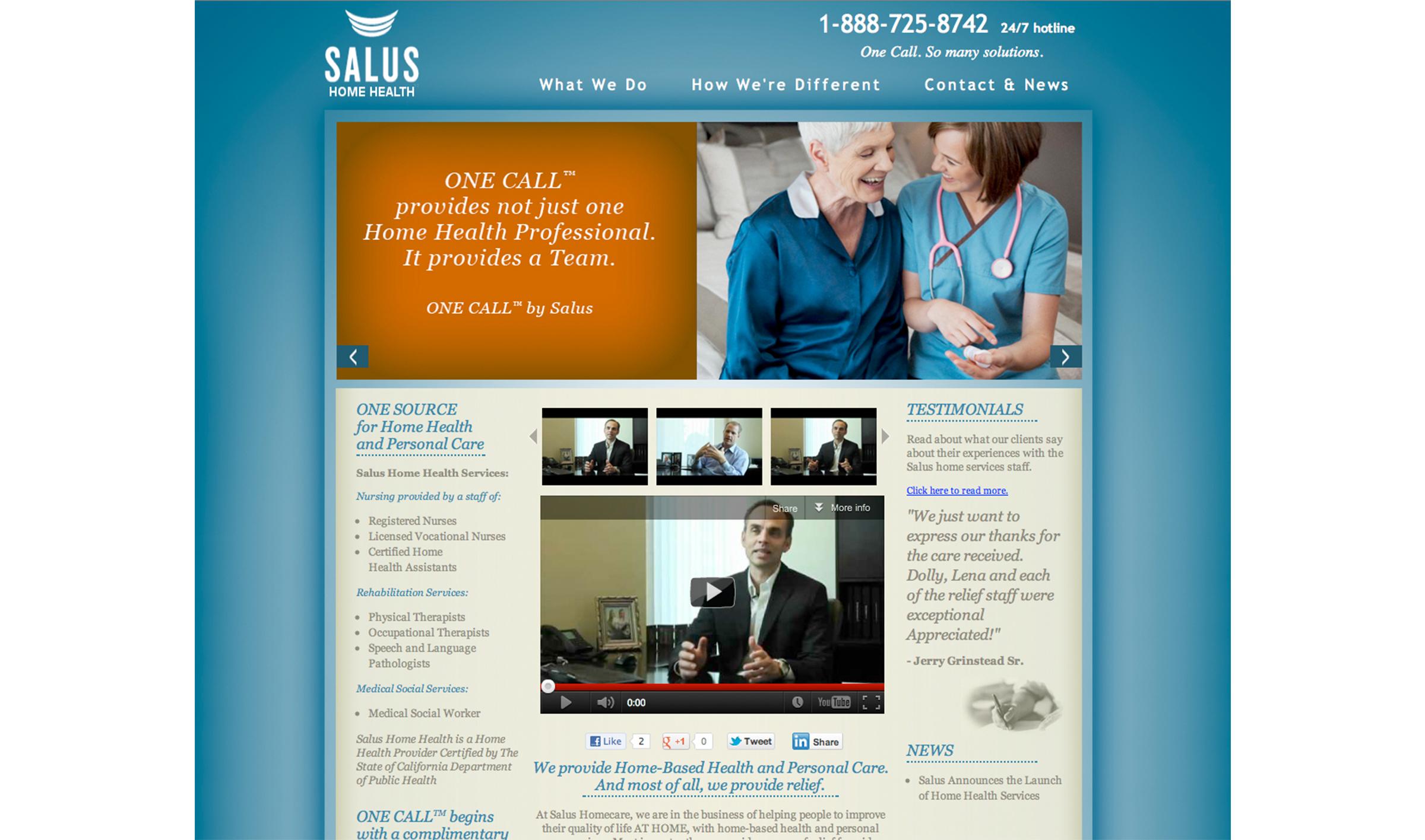 Website Design For Caregiver Agencies